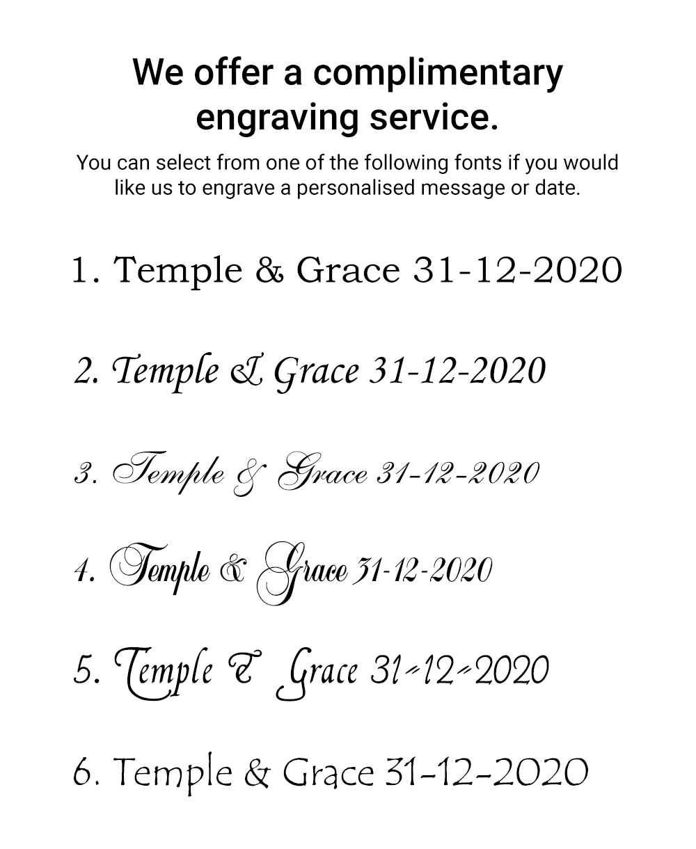 engraving font styles