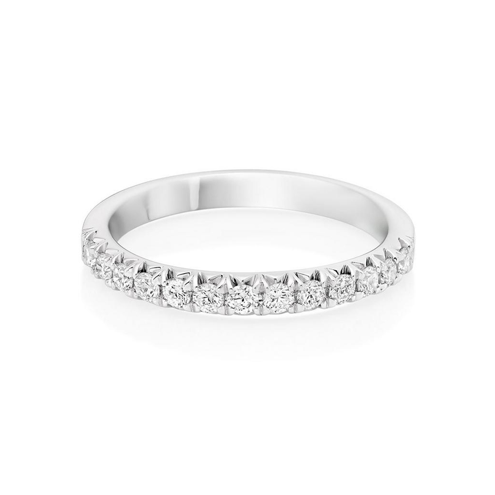 Halfway Diamond Wedding Ring