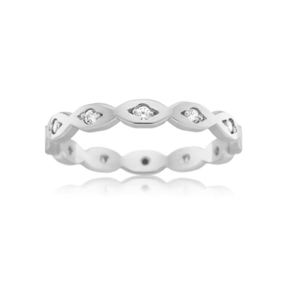 Diamond Infinity ring F3709