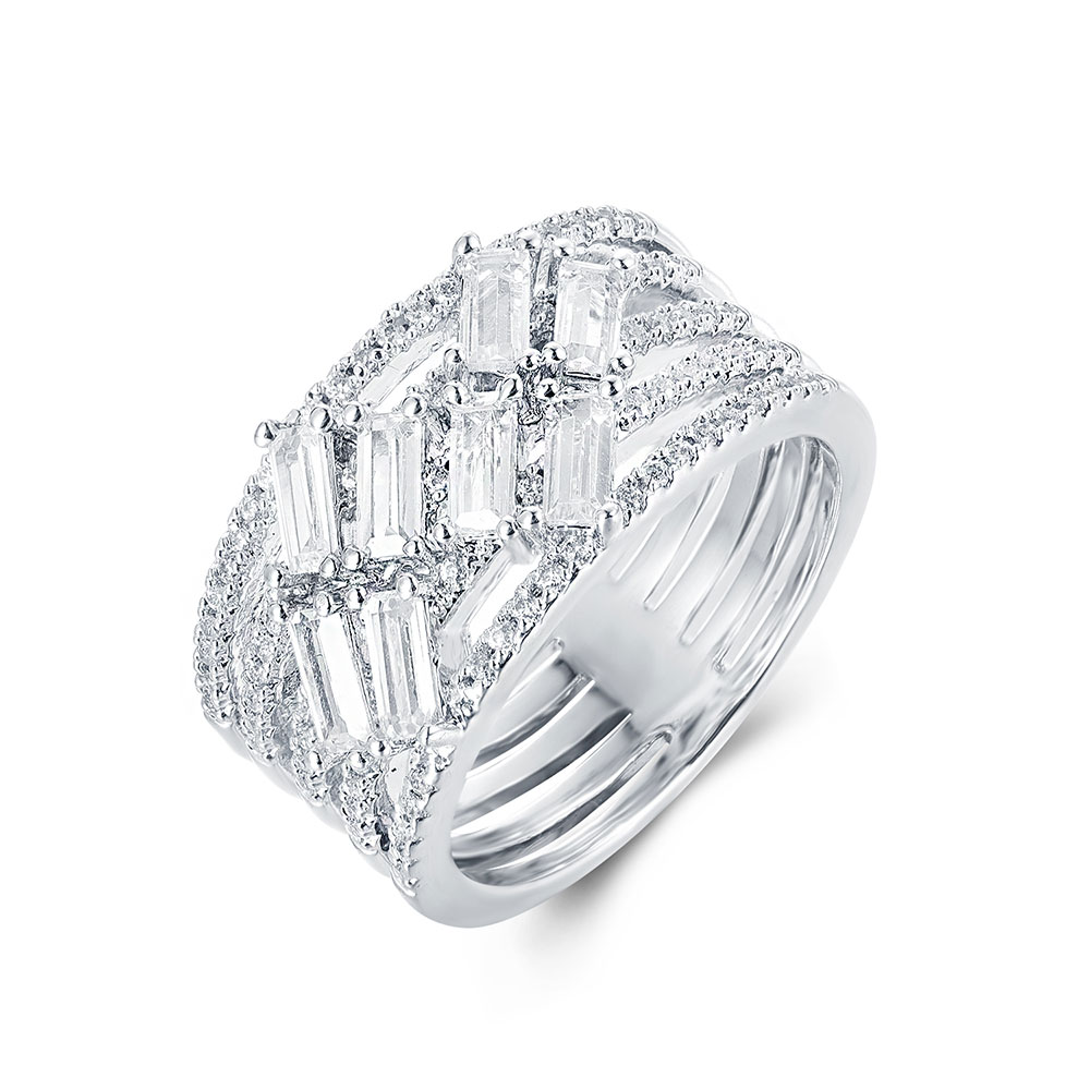 Multi Band Diamond Ring
