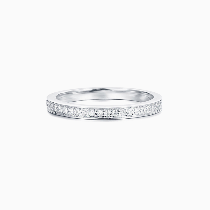 Pave set diamond Wedding Ring