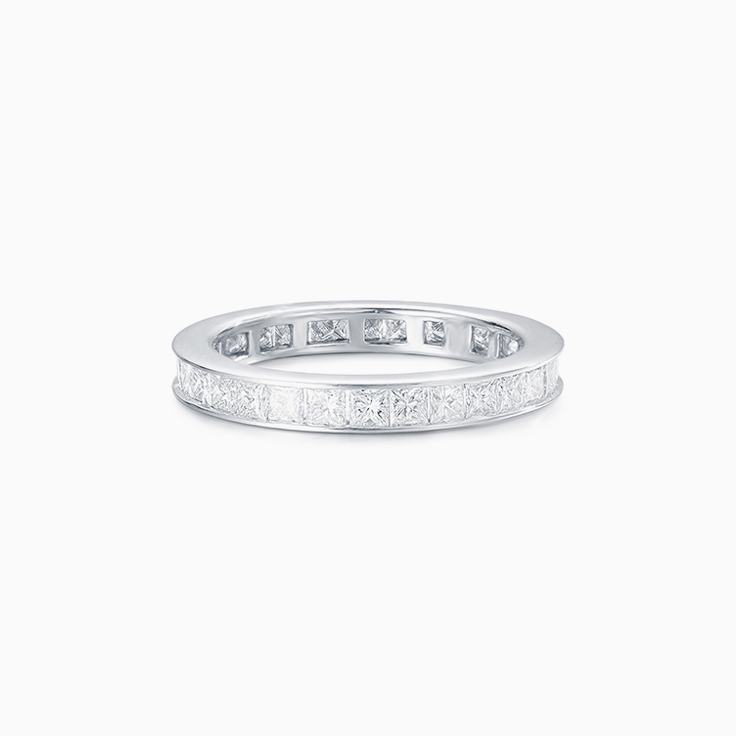 Princess Cut Chanel set Wedder