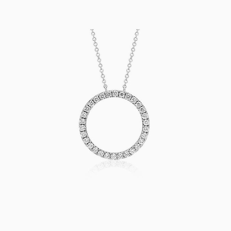 Eternity Diamond Necklace