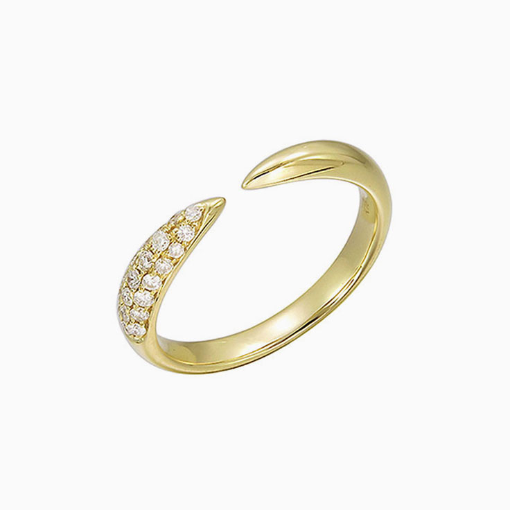 Pave set diamond cuff 3190