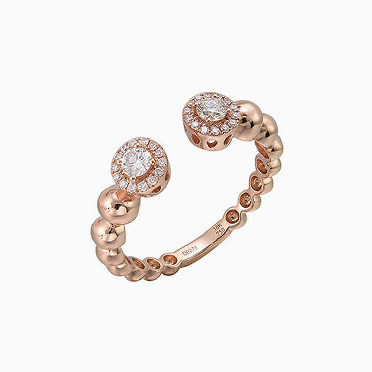 Diamond Cuff ring F3040