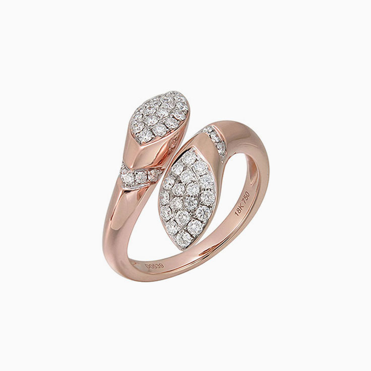 Marquise shape diamond ring F3059