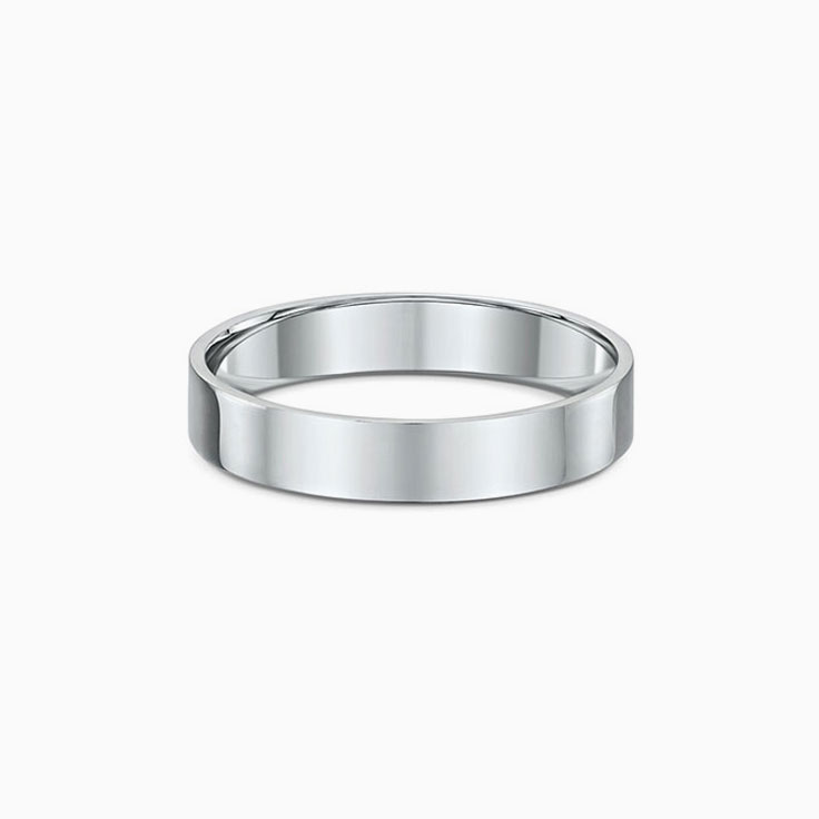 Classic Mens wedding band 560A09