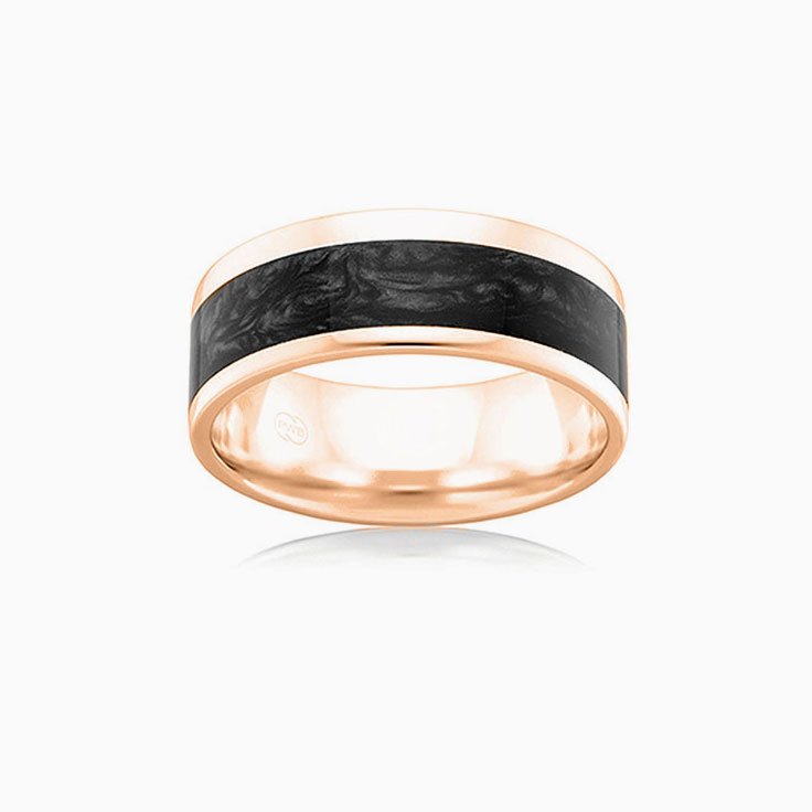 Black Spectrum Mens Ring J4379