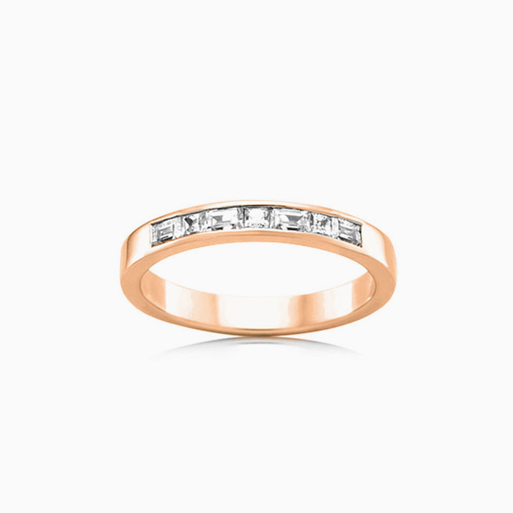 Baguette and Princess cut ring FR3520