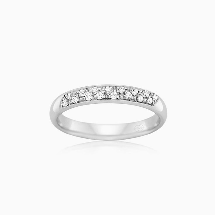 Pave set diamond ring OCW1231