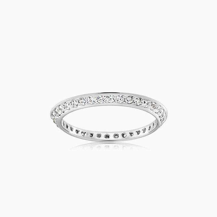 Knife edge wedding ring FC3890