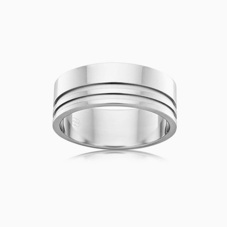 Double Side Groove Ring F3320