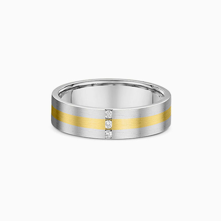 Three stone mens wedding ring 1855000