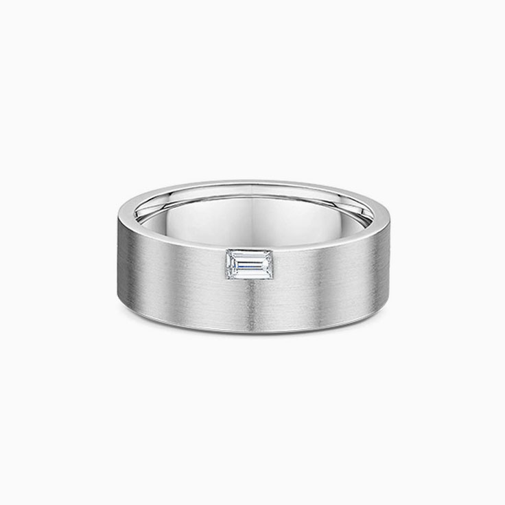 Baguette cut mens ring 2438000