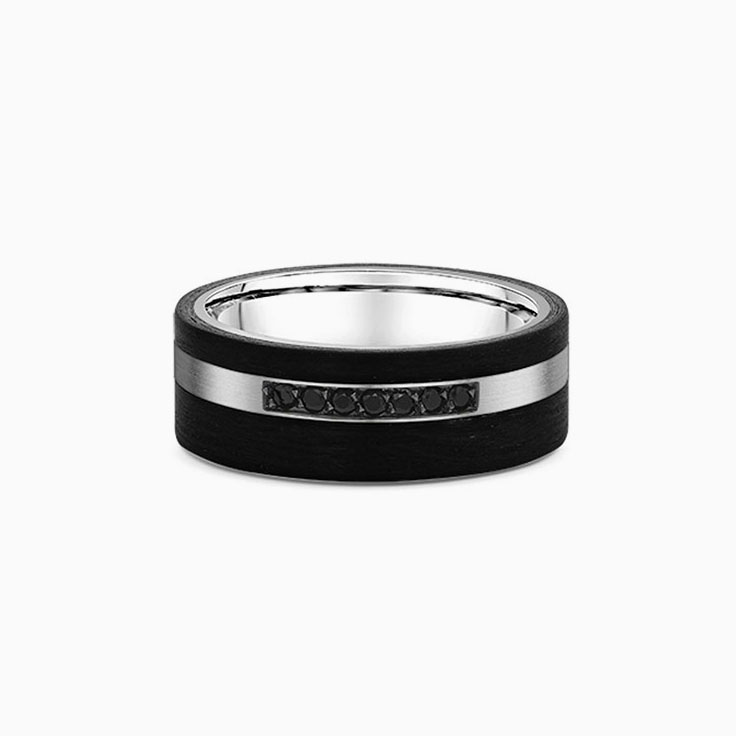 Black Diamond Carbon Ring 667B00A