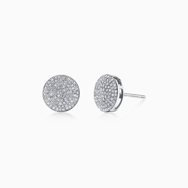 Diamond Pave studs