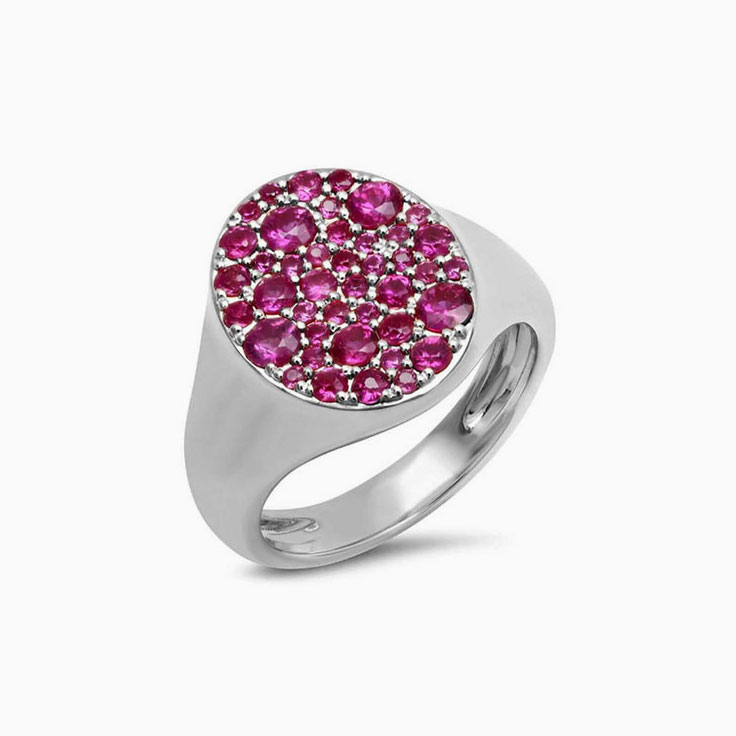 Gemstone Signet Ruby