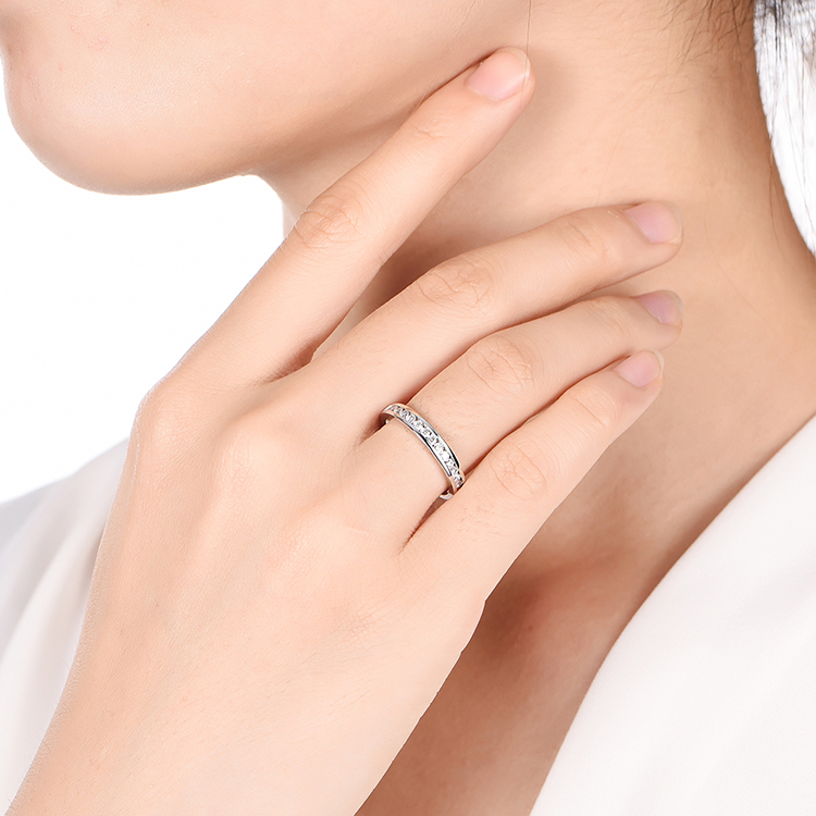 Chanel Set Diamond Wedding Band