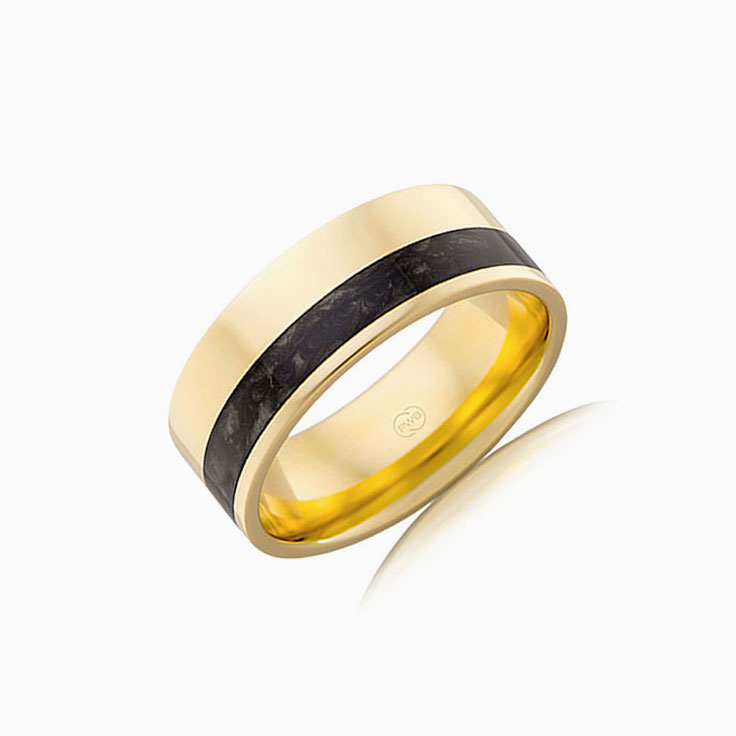Black Spectrum Mens Ring J4365