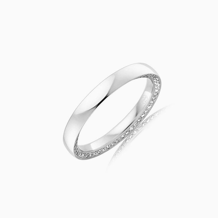 Side set diamond band OR3739