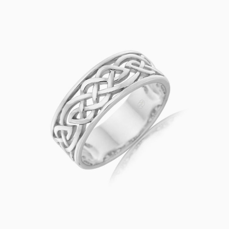 Carved Mens Rings J2648