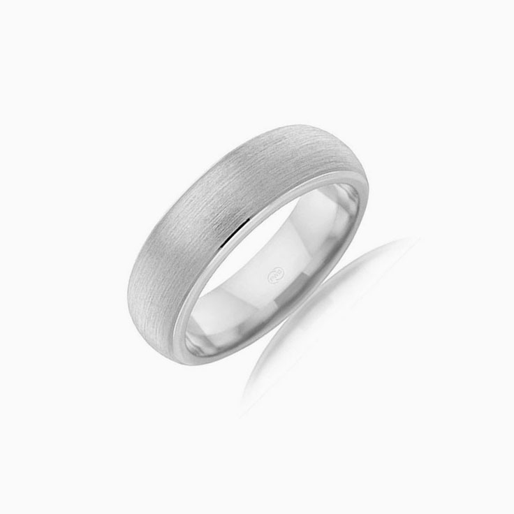 Matt and polish wedding ring BE2773