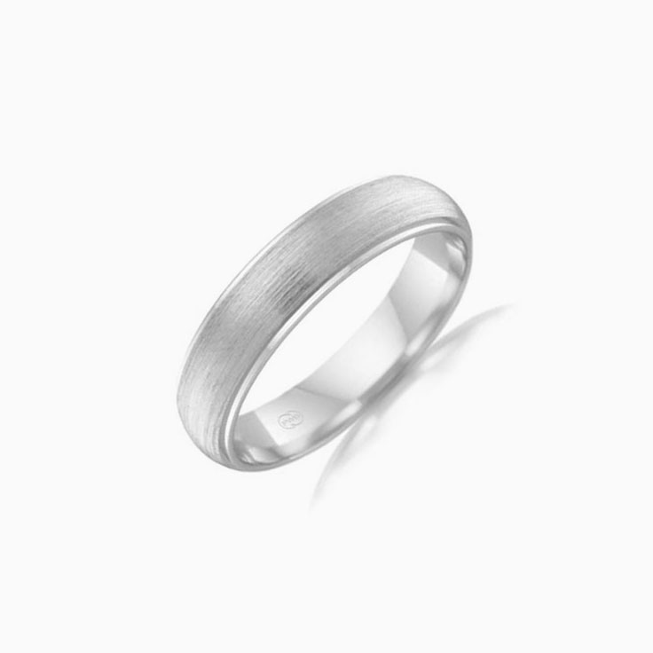 Brushed finish Mens Ring HD2772