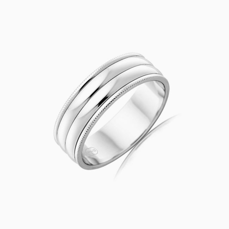 Classic Mens Wedding ring J1822